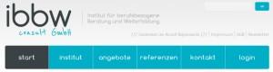 Internetseite ibbw-consult